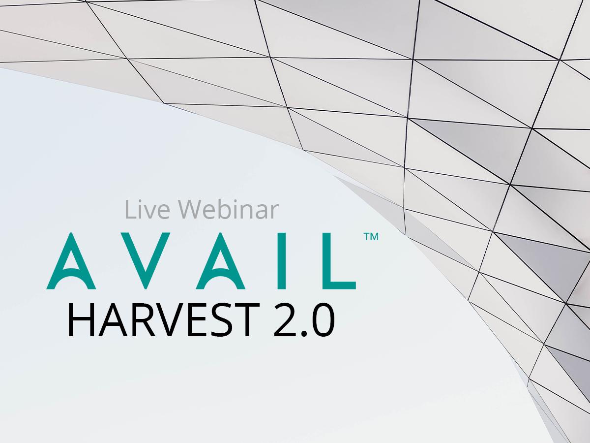 AVAIL Harvest 2.0